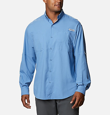 Men's PFG Tamiami™ II Long Sleeve Shirt Tamiami™ II LS Shirt | 479 | L, Skyler, front