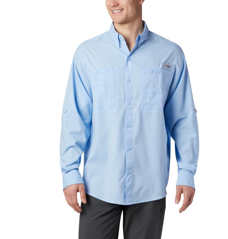 Tamiami™ II LS Shirt | 486 | XXL Men's PFG Tamiami™ II Long Sleeve Shirt, Sail, front