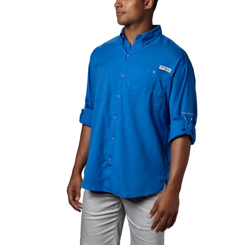 Tamiami™ II LS Shirt | 487 | L Men's PFG Tamiami™ II Long Sleeve Shirt, Vivid Blue, a1