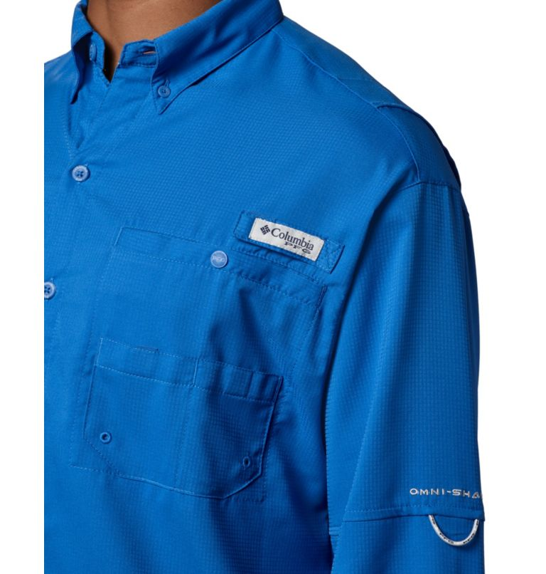 Tamiami™ II LS Shirt | 487 | L Men's PFG Tamiami™ II Long Sleeve Shirt, Vivid Blue, a2