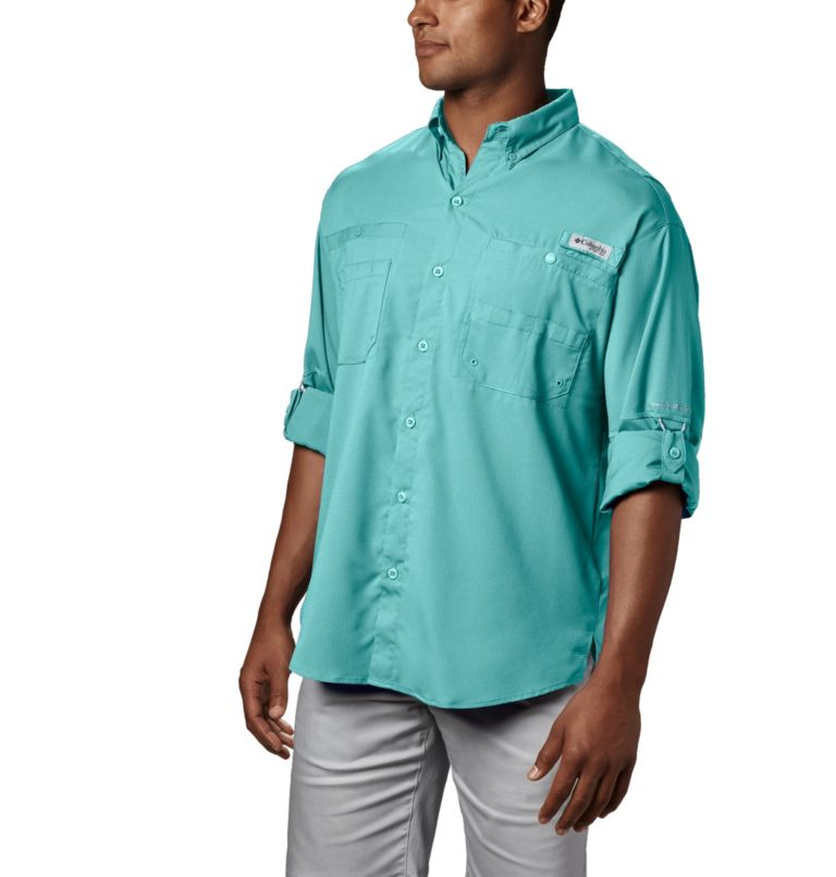 Tamiami™ II LS Shirt | 499 | M Men's PFG Tamiami™ II Long Sleeve Shirt, Gulf Stream, a1