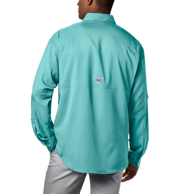 Tamiami™ II LS Shirt | 499 | M Men's PFG Tamiami™ II Long Sleeve Shirt, Gulf Stream, back