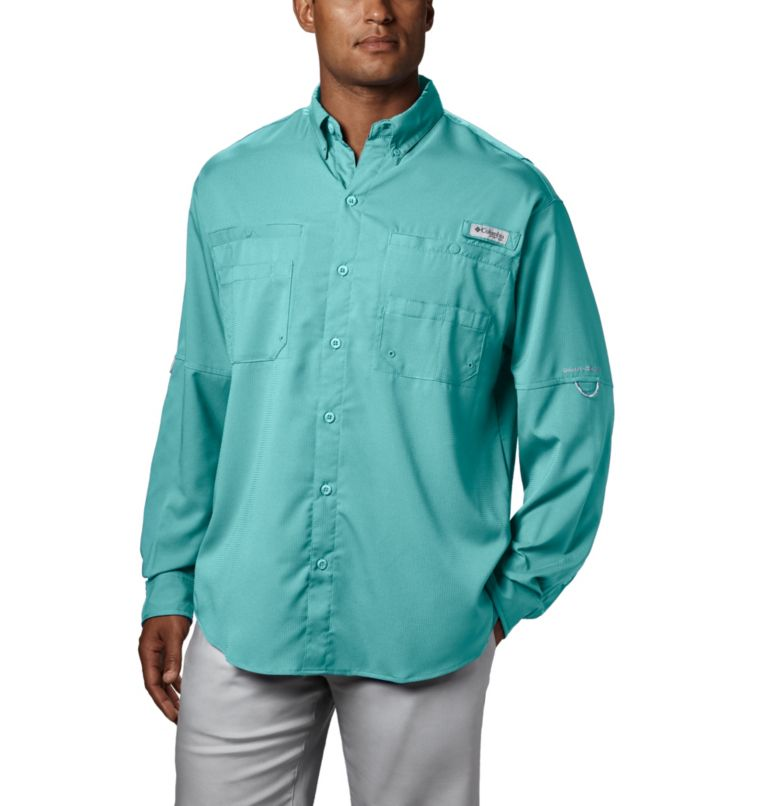 Tamiami™ II LS Shirt   499   XL Men's PFG Tamiami™ II Long Sleeve Shirt, Gulf Stream, front