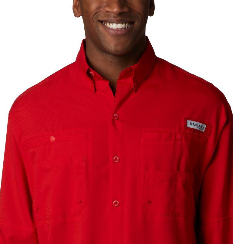 Tamiami™ II LS Shirt | 696 | XS Men's PFG Tamiami™ II Long Sleeve Shirt, Red Spark, a1