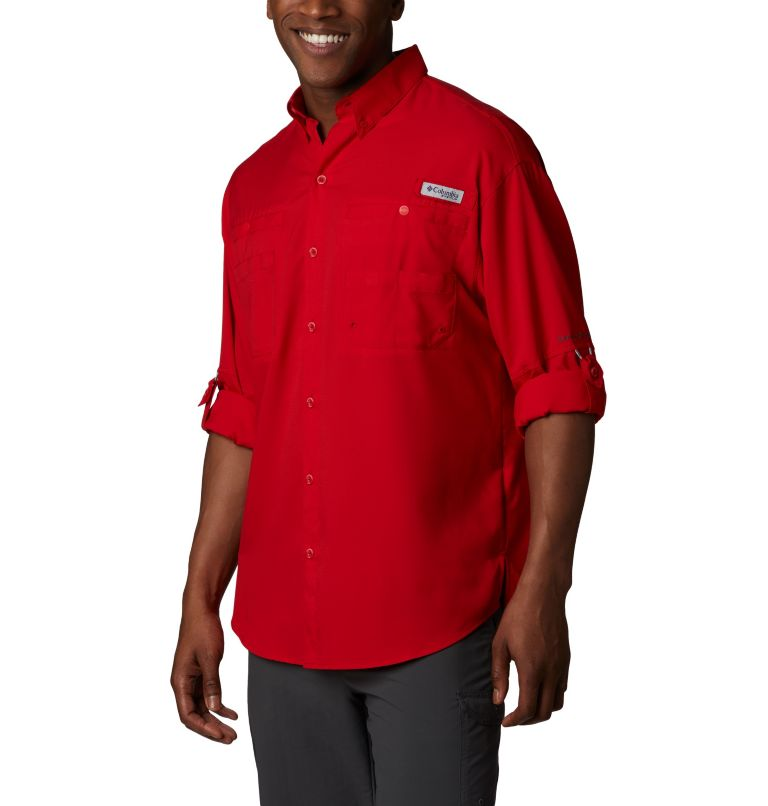 Tamiami™ II LS Shirt | 696 | L Men's PFG Tamiami™ II Long Sleeve Shirt, Red Spark, a2