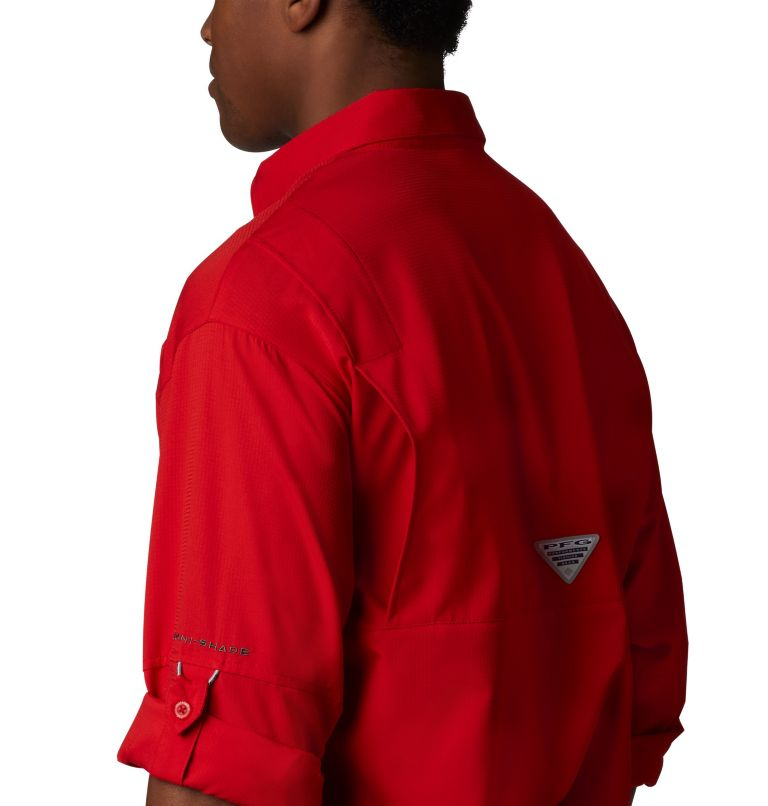 Tamiami™ II LS Shirt | 696 | XS Men's PFG Tamiami™ II Long Sleeve Shirt, Red Spark, a4