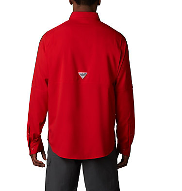 Men's PFG Tamiami™ II Long Sleeve Shirt Tamiami™ II LS Shirt | 479 | L, Red Spark, back