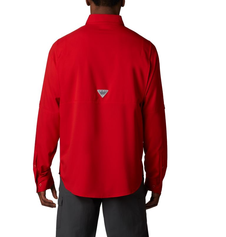 Tamiami™ II LS Shirt   696   M Men's PFG Tamiami™ II Long Sleeve Shirt, Red Spark, back