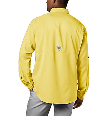 Men's PFG Tamiami™ II Long Sleeve Shirt Tamiami™ II LS Shirt | 479 | L, Sunlit, back