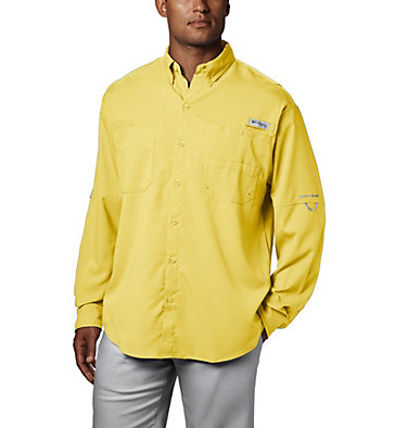 Men's PFG Tamiami™ II Long Sleeve Shirt Tamiami™ II LS Shirt | 479 | L, Sunlit, front