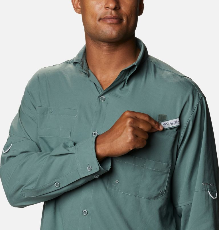 Tamiami™ II LS Shirt | 967 | M Men's PFG Tamiami™ II Long Sleeve Shirt, Pond, a2