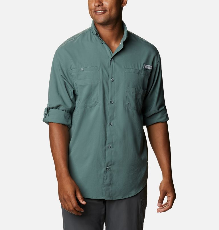 Tamiami™ II LS Shirt | 967 | S Men's PFG Tamiami™ II Long Sleeve Shirt, Pond, a4