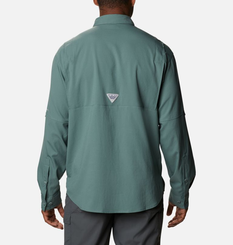 Tamiami™ II LS Shirt | 967 | S Men's PFG Tamiami™ II Long Sleeve Shirt, Pond, back