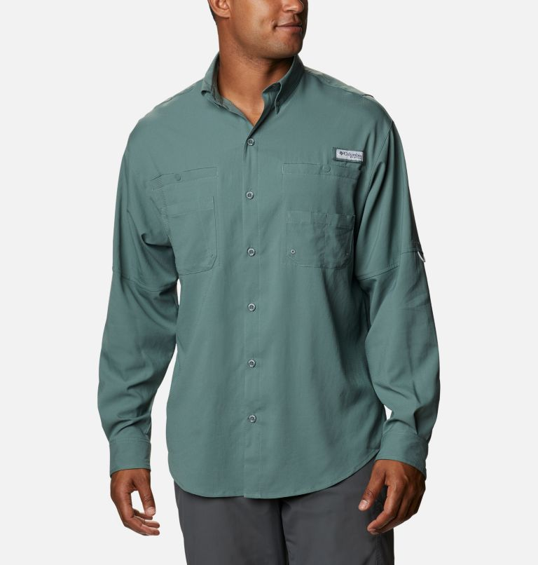 Tamiami™ II LS Shirt | 967 | S Men's PFG Tamiami™ II Long Sleeve Shirt, Pond, front