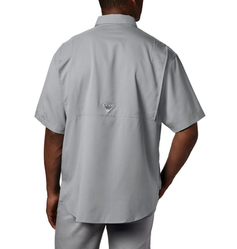 Tamiami™ II SS Shirt | 019 | XL Men's PFG Tamiami™ II Short Sleeve Shirt, Cool Grey, back