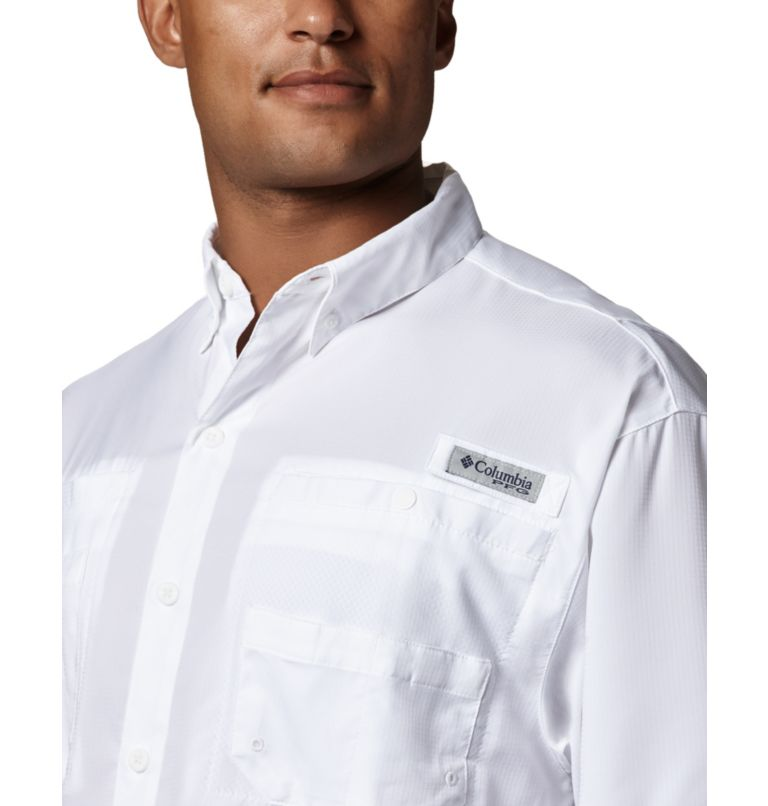 Tamiami™ II SS Shirt | 100 | XS Men's PFG Tamiami™ II Short Sleeve Shirt, White, a1