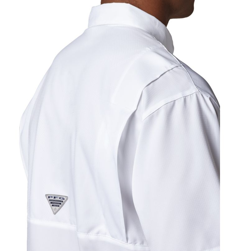 Tamiami™ II SS Shirt | 100 | XS Men's PFG Tamiami™ II Short Sleeve Shirt, White, a3