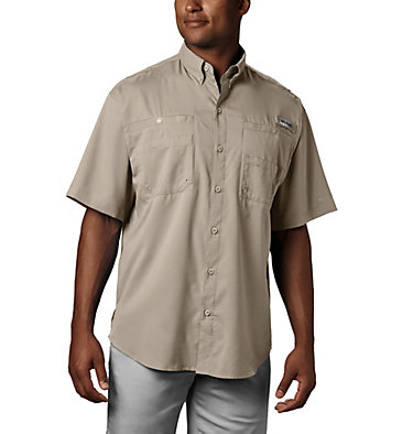 Men's PFG Tamiami™ II Short Sleeve Shirt Tamiami™ II SS Shirt | 479 | L, Fossil, front