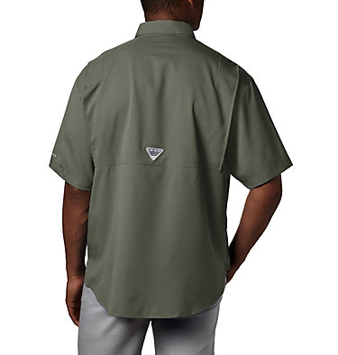 Men's PFG Tamiami™ II Short Sleeve Shirt Tamiami™ II SS Shirt | 479 | L, Cypress, back