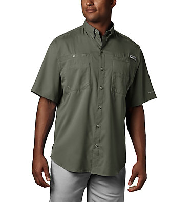 Men's PFG Tamiami™ II Short Sleeve Shirt Tamiami™ II SS Shirt | 479 | L, Cypress, front