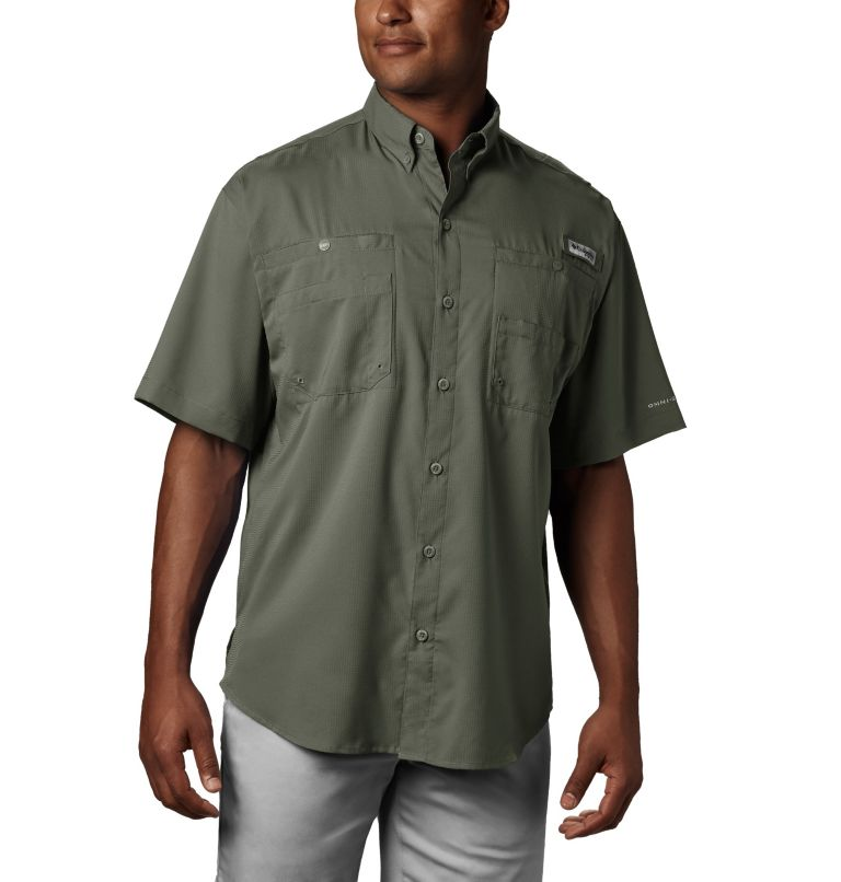 Tamiami™ II SS Shirt | 316 | XS Men's PFG Tamiami™ II Short Sleeve Shirt, Cypress, front