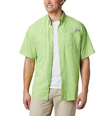 Men's PFG Tamiami™ II Short Sleeve Shirt Tamiami™ II SS Shirt | 479 | L, Jade Lime, front