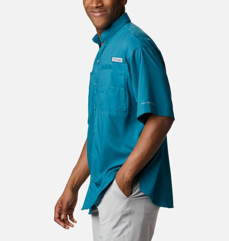 Tamiami™ II SS Shirt | 340 | XL Men's PFG Tamiami™ II Short Sleeve Shirt, Aegean Blue, a1