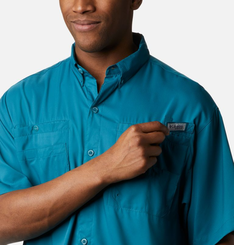 Tamiami™ II SS Shirt | 340 | XL Men's PFG Tamiami™ II Short Sleeve Shirt, Aegean Blue, a2