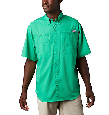 Men's PFG Tamiami™ II Short Sleeve Shirt Tamiami™ II SS Shirt | 479 | L, Dark Lime, front