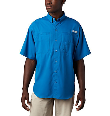 Men's PFG Tamiami™ II Short Sleeve Shirt Tamiami™ II SS Shirt | 479 | L, Dark Pool, front