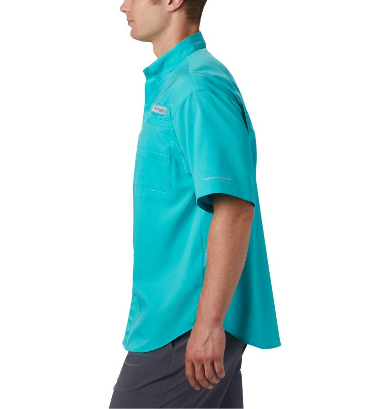Tamiami™ II SS Shirt | 455 | L Men's PFG Tamiami™ II Short Sleeve Shirt, Bright Aqua, a2