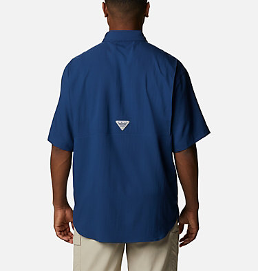 Men's PFG Tamiami™ II Short Sleeve Shirt Tamiami™ II SS Shirt | 479 | L, Carbon, back