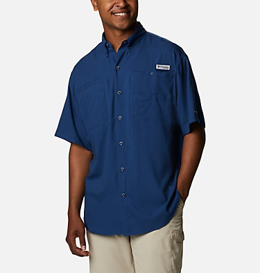 Men's PFG Tamiami™ II Short Sleeve Shirt Tamiami™ II SS Shirt | 479 | L, Carbon, front