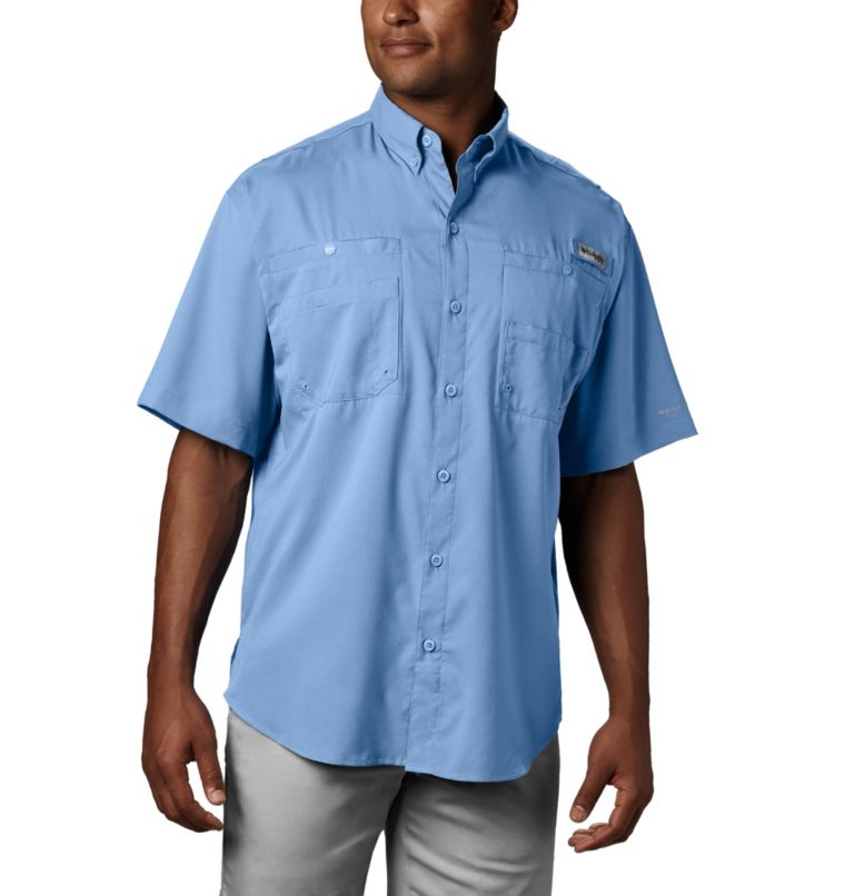 Tamiami™ II SS Shirt   486   M Men's PFG Tamiami™ II Short Sleeve Shirt, Sail, front