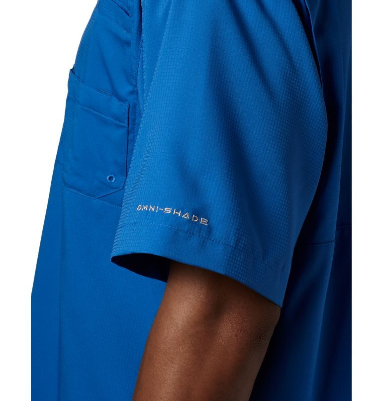 Tamiami™ II SS Shirt | 487 | M Men's PFG Tamiami™ II Short Sleeve Shirt, Vivid Blue, a2
