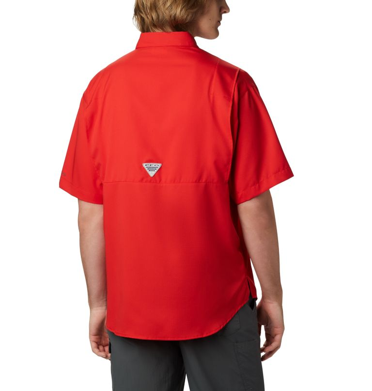 Tamiami™ II SS Shirt   696   XL Men's PFG Tamiami™ II Short Sleeve Shirt, Red Spark, back