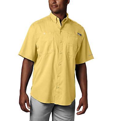 Men's PFG Tamiami™ II Short Sleeve Shirt Tamiami™ II SS Shirt | 479 | L, Sunlit, front