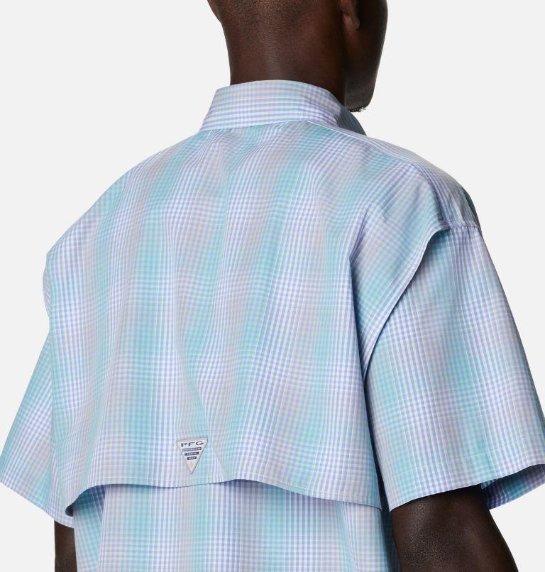Super Bonehead Classic™ SS Shirt | 368 | XL Men's PFG Super Bonehead Classic™ Short Sleeve Shirt, Mint Cay Ombre Gingham, a3