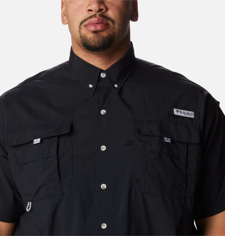 Bahama™ II S/S Shirt | 010 | 3X Men's PFG Bahama™ II Short Sleeve Shirt - Big, Black, a2