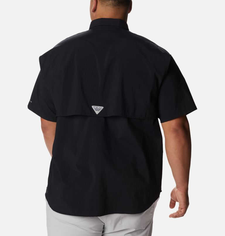 Bahama™ II S/S Shirt | 010 | 3X Men's PFG Bahama™ II Short Sleeve Shirt - Big, Black, back