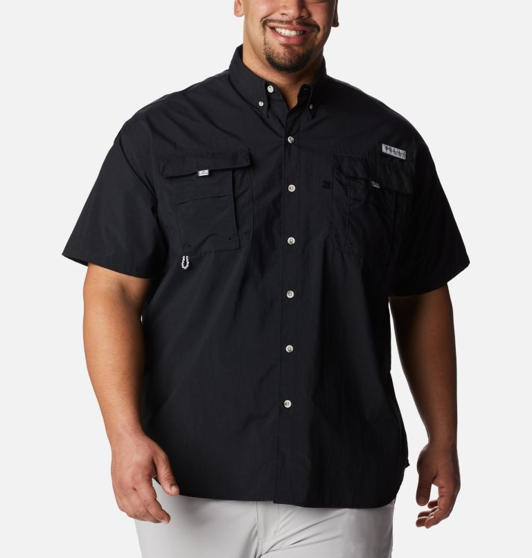 Bahama™ II S/S Shirt | 010 | 3X Men's PFG Bahama™ II Short Sleeve Shirt - Big, Black, front