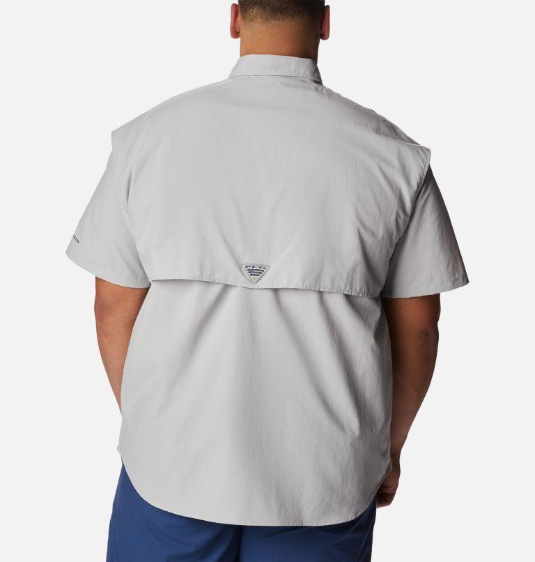 Bahama™ II S/S Shirt   019   2X Men's PFG Bahama™ II Short Sleeve Shirt - Big, Cool Grey, back