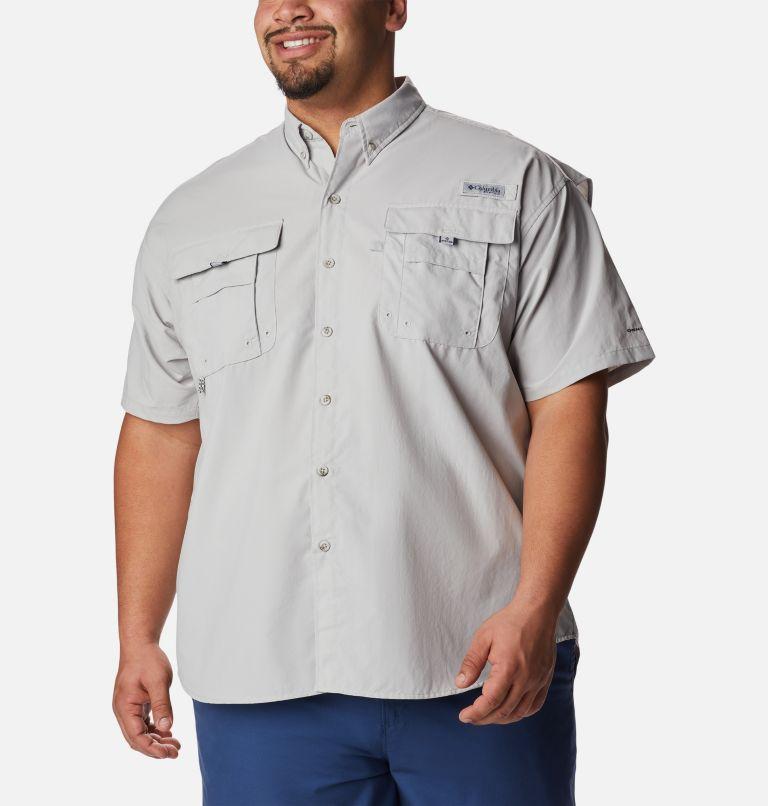 Bahama™ II S/S Shirt   019   2X Men's PFG Bahama™ II Short Sleeve Shirt - Big, Cool Grey, front