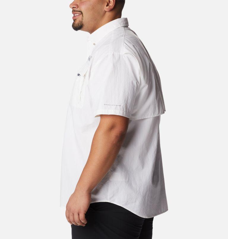 Bahama™ II S/S Shirt | 100 | 4X Men's PFG Bahama™ II Short Sleeve Shirt - Big, White, a1