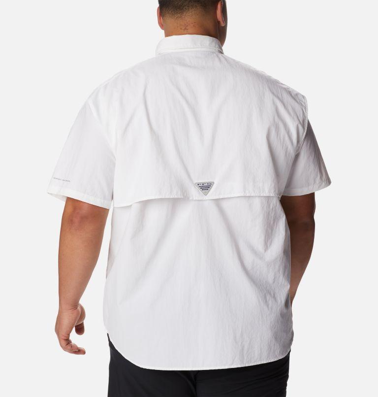 Bahama™ II S/S Shirt | 100 | 4X Men's PFG Bahama™ II Short Sleeve Shirt - Big, White, back