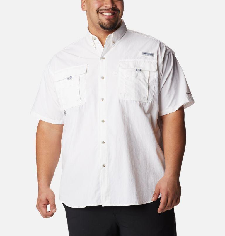 Bahama™ II S/S Shirt | 100 | 4X Men's PFG Bahama™ II Short Sleeve Shirt - Big, White, front