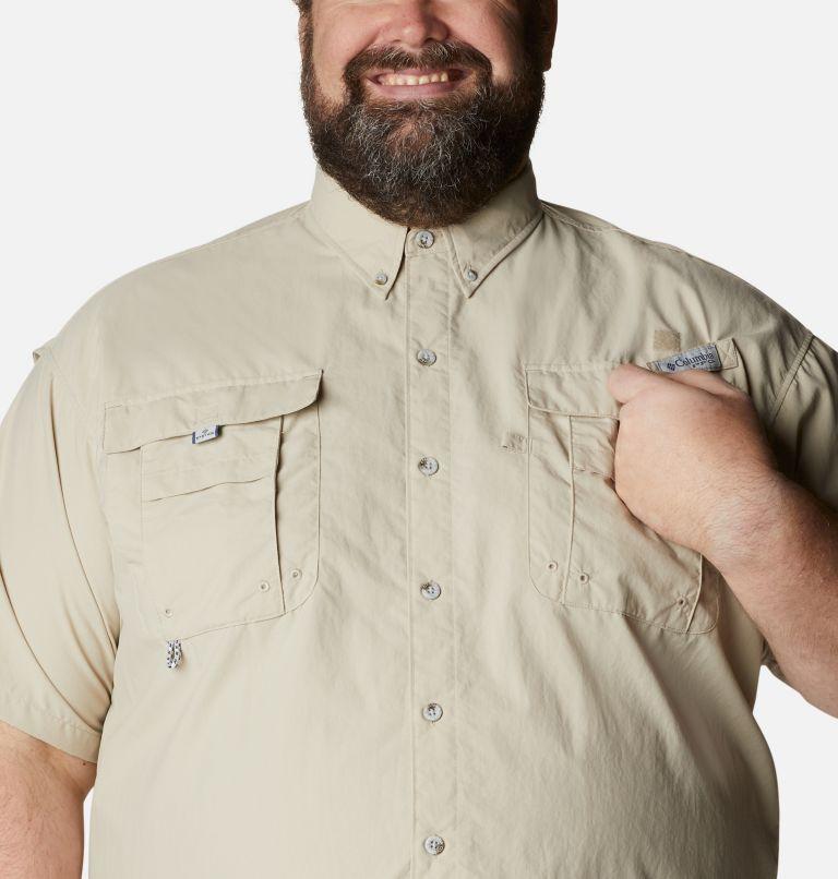 Bahama™ II S/S Shirt | 160 | 1X Men's PFG Bahama™ II Short Sleeve Shirt - Big, Fossil, a2