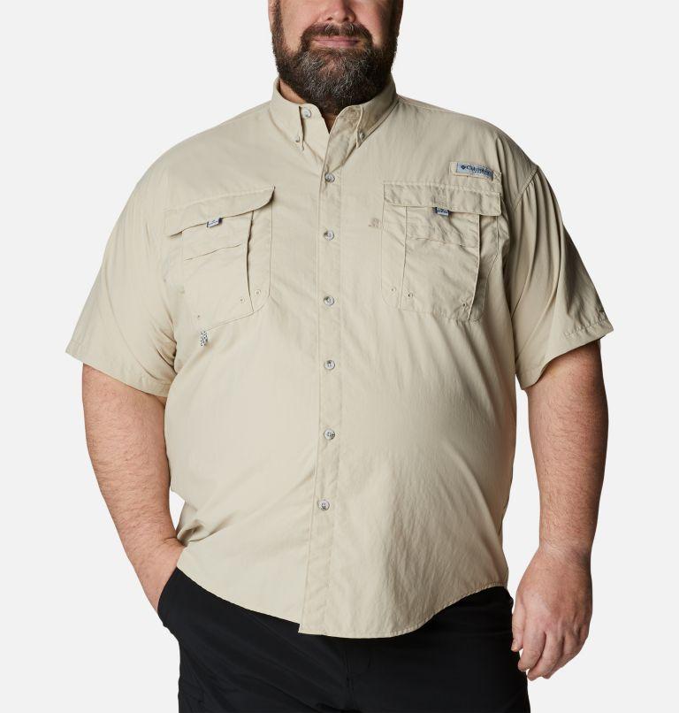 Bahama™ II S/S Shirt | 160 | 1X Men's PFG Bahama™ II Short Sleeve Shirt - Big, Fossil, front