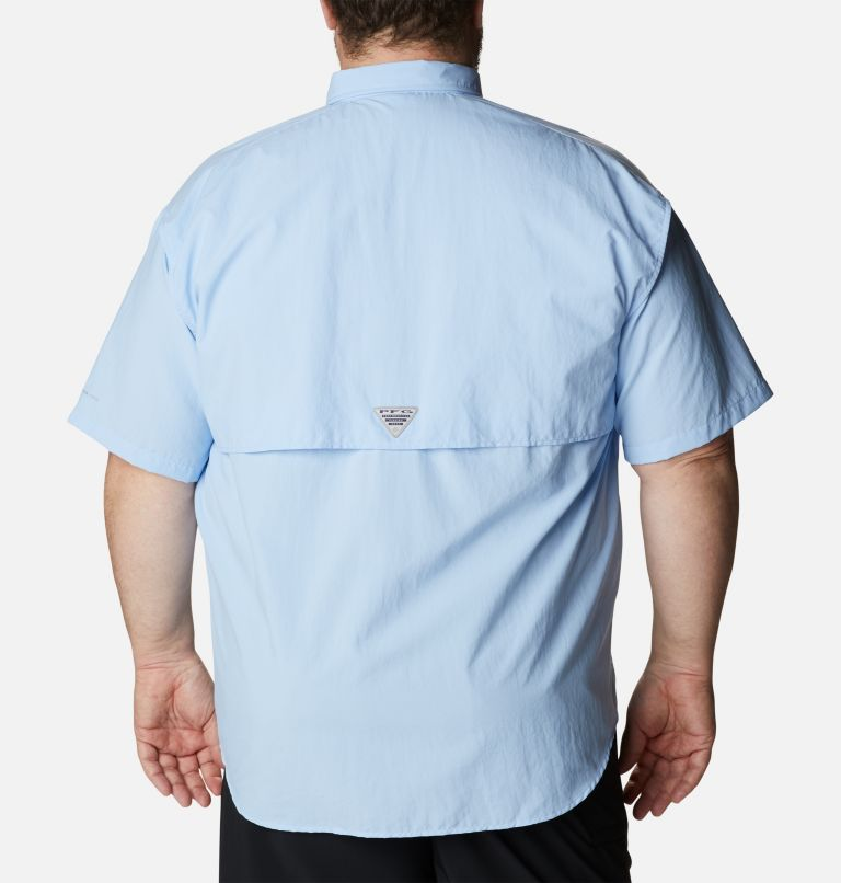 Bahama™ II S/S Shirt | 486 | 5X Men's PFG Bahama™ II Short Sleeve Shirt - Big, Sail, back