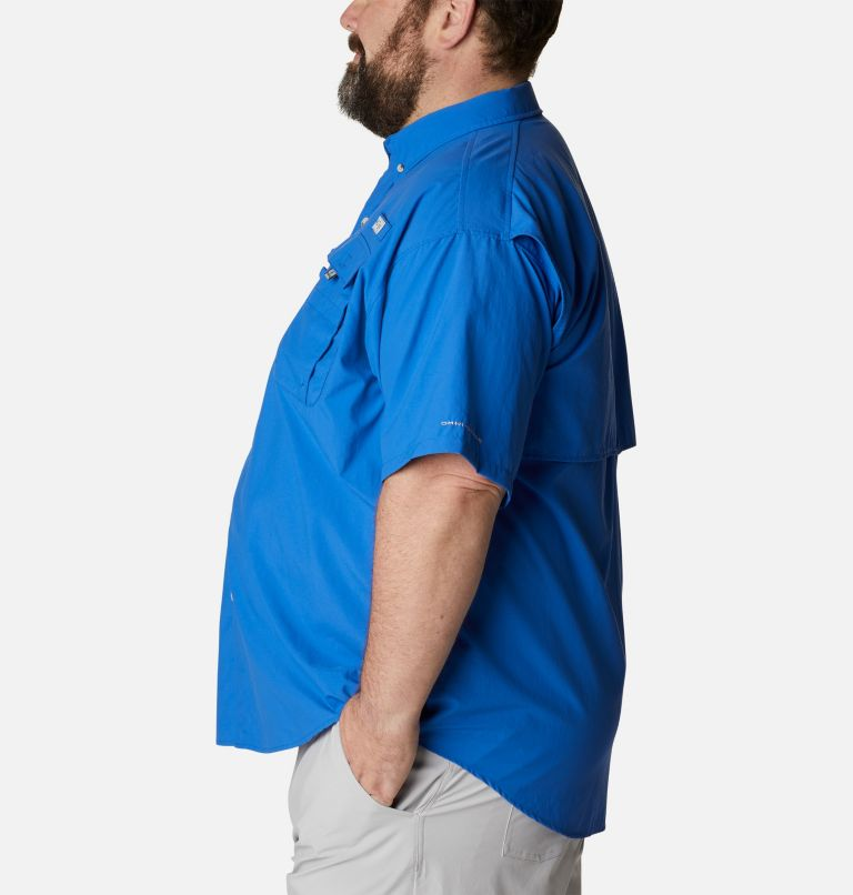 Bahama™ II S/S Shirt   487   3X Men's PFG Bahama™ II Short Sleeve Shirt - Big, Vivid Blue, a1